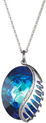 Náhrdelník Fairy Tale Fantasy s kryštálom Bermuda Blue 7222 46