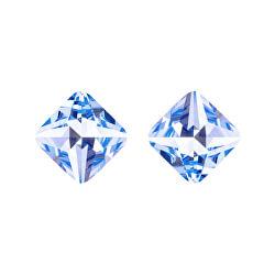 Náušnice s modrým krystalem Optica 6142 58