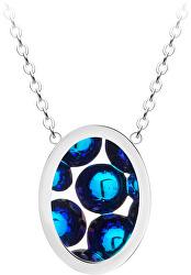 Ocelový náhrdelník s třpytivým přívěskem Idared 7361 46