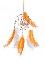 Oranžový lapač snů s českým křišťálem Preciosa - Dobrodružství 1363 60