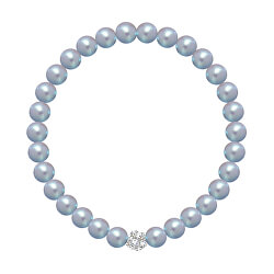 Korálek náramok Velvet Pearl 2219 19