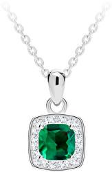 Překrásný stříbrný náhrdelník Minas 5312 66 (řetízek, přívěsek)