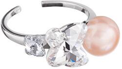 Prsteň s perlou Gentle Passion 5214 69