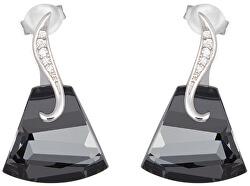 Stříbrné náušnice Crystal Bell 6039 40