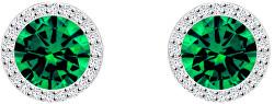 Strieborné náušnice Emerald 5269 66
