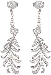Stříbrné náušnice s krystaly Joy 5189 00