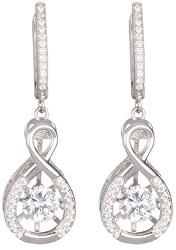 Stříbrné náušnice s krystaly Precision 5187 00