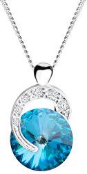 Stříbrný náhrdelník Gentle Beauty 6766 46 (řetízek, přívěsek)