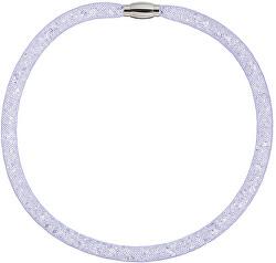 Trblietavý náhrdelník Scarlette fialový 7250 56