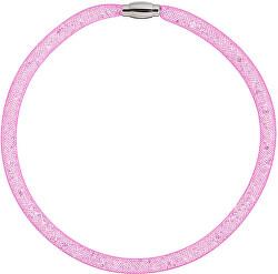 Trblietavý náhrdelník Scarlette fuchsiovej 7250 55