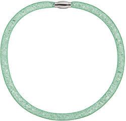 Třpytivý náhrdelník Scarlette zelený 7250 66