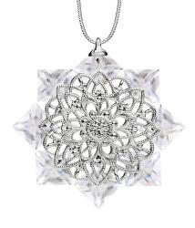 Vánoční hvězda z českého křišťálu Preciosa 1513 00