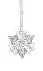 Vánoční ornament z českého křišťálu Preciosa 1389 00