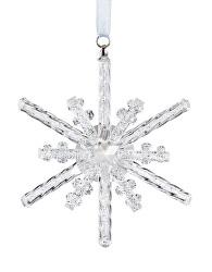 Vánoční ornament z českého křišťálu Preciosa 1450 00
