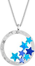 Výrazný ocelový náhrdelník Virgo Akva 7340 67
