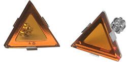 Elegantní stříbrné náušnice by Gabriela Koukalová Triangle NA6271