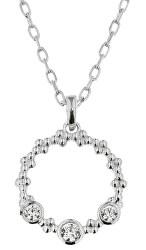 Elegantný strieborný náhrdelník Stella KO8089_MO040_45_RH (retiazka, prívesok)