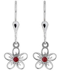 Jemné stříbrné náušnice Jabloňový květ NA5189_N_RH