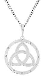 Moderní stříbrný náhrdelník Epona KO6016_CU050_45_RH  (řetízek, přívěsek)