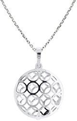 Originálne strieborný náhrdelník KO1694_MO040_45_RH (retiazka, prívesok)