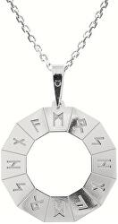 Férfi ezüst nyaklánc Hitta KO5205_MO060_50 (lánc, medál)