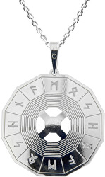 Férfi ezüst nyaklánc  Knutr KO5204_MO060_50 (lánc, medál)