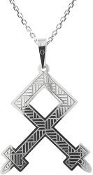 Férfi ezüst nyaklánc Othila KO5207_MO060_50 (lánc, medál)