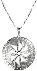 Férfi ezüst nyaklánc Sol KO5006_MO060_50_RH (lánc, medál)