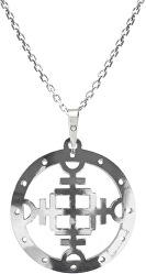 Férfi ezüst nyaklánc Vegvisir KO5005_MO060_50  (lánc, medál)