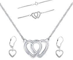 Prekrásna súprava šperkov Lovela N6061_KA6063_NA6064_RH (náhrdelník, náramok, náušnice)