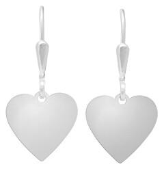 Romantické stříbrné náušnice Viola NA6028_RH