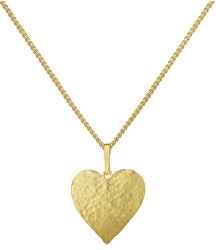 Romantický pozlacený náhrdelník Cora KO6257_CU050_45  (řetízek, přívěsek)