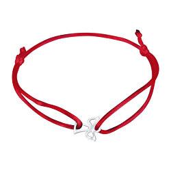 Šnúrkový červený kabala náramok Anjelik KA6164_RH
