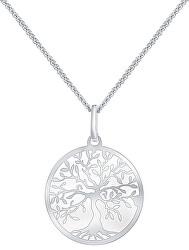 Stříbrný náhrdelník Strom života KO6006_CU040_45_A_RH (řetízek, přívěsek)