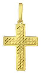 Zlatý prívesok Krížik PA6254