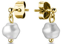 Jemné visací náušnice s perlou Toccombo JTSPG-J427