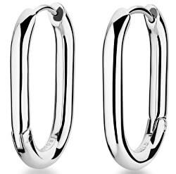 Luxusní ocelové náušnice kruhy Toccombo JTHCS-J423