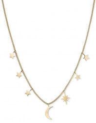 Pozlátený náhrdelník Multi Stars and Moon MUSNG-J211