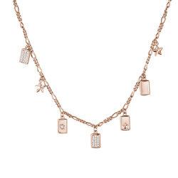 Bronzový náhrdelník s přívěsky Futura RZFU02