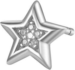 Stříbrná single náušnice Hvězda Storie RZO026R