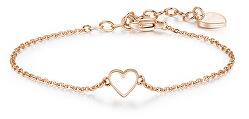 Bronze Armband mit Herzen SCK13