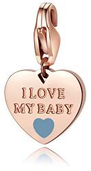 Bronzový prívesok I love my baby SHA333