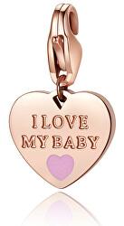 Bronzový prívesok I love my baby SHA335