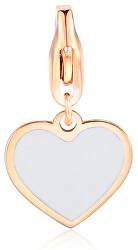 Bronzový prívesok Srdce Happy SHA326