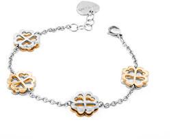 Armband Butterfly mit Kleeblätter SBF15