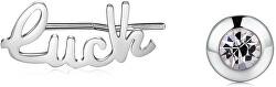 Ocelové asymetrické náušnice Write SWT21