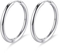 Cercei rotunzi din oțelHappy Ears SHEA02
