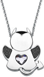 Oceľový náhrdelník Angel or Devil SNG08