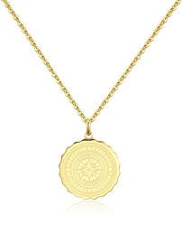 Ocelový náhrdelník Freedom Coin SKY06