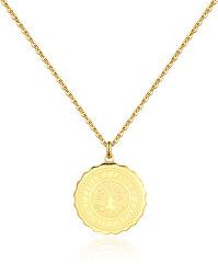 Ocelový náhrdelník Life Coin SKY08